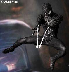 Spiderman 3: Spiderman - Black Suit, Voll bewegliche Deluxe-Figur ... http://spaceart.de/produkte/spm001.php