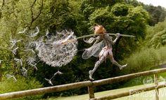 Fairy Sculpture By Robin Wight Robin Wight, Chicken Wire Sculpture, Wire Art Sculpture, Wire Sculptures, Abstract Sculpture, Fantasy Wire, Fairy Art, Outdoor Art, Land Art