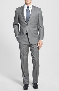 Free shipping and returns on Hart Schaffner Marx 'New York' Classic Fit Wool Suit at Nordstrom.com. Fine worsted wool forms a handsome, professional suit featuring flat-front trousers paired with a two-button, notch-lapel jacket.