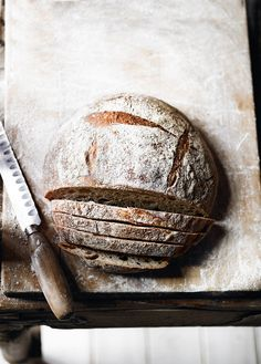 Baking your own sourdough bread to serve as a side dish, or on its own, is hugely satisfying. Lucas Hollweg's recipe shows you how.