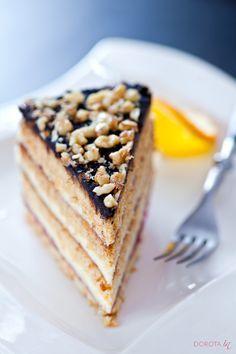 Tradycyjne, polskie #ciasto świąteczne czyli #przepis na najlepszy miodownik, znany też jako stefanka.  http://dorota.in/miodownik-stefanka/