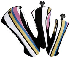 Check out our Cabana Stripe Glove It Ladies Set Golf Club Covers! Find the best golf gear and accessories at Lori's Golf Shoppe. Click through now to see this Golf Club Covers)! Ladies Golf Clubs, Best Golf Clubs, Golf R, Play Golf, Disc Golf, Golf Headcovers, Dubai Golf, Golf Club Covers, Miniature Golf