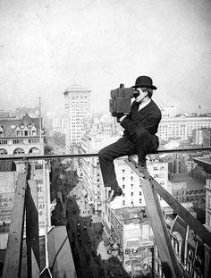 ranciavida: Above Fifth Avenue, Looking North, 1905 - Charles C. Ebbets