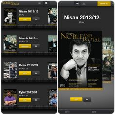 The internet address of luxury Noble and Royal now on iPad, iPhone and iPod touch!