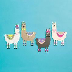 Fun Paper Crafts To Keep The Kids Entertained Alpacas, Crafts For Kids To Make, Kids Crafts, Craft Projects, Diy Paper, Paper Crafts, Llama Arts, Llama Birthday, Llama Alpaca