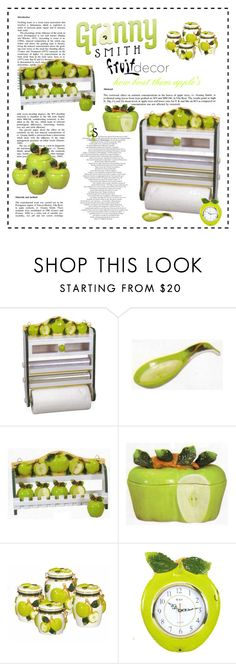 """Granny Smith's"" by my-time-is-now ❤ liked on Polyvore featuring interior, interiors, interior design, home, home decor and interior decorating"