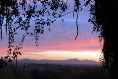"""Tucson Balcony Sunset"" by Suzanne Scales. Copyrighted."