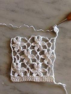 pap resumido considere a Crochet Lace Scarf, Crochet Tree, Crochet Stitches Free, Freeform Crochet, Crochet Stitches Patterns, Crochet Diagram, Crochet Squares, Love Crochet, Crochet Motif
