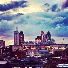 View of London from @Mondomulia