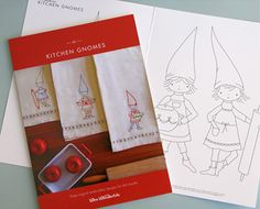 Would love to make these kitchen gnomies from Wee Wonderfuls.
