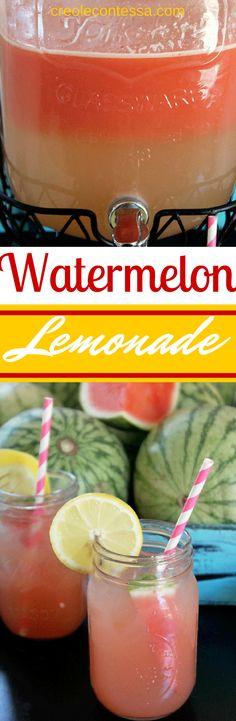 Watermelon Lemonade -Creole Contes