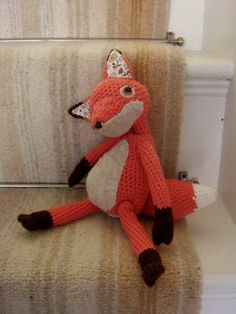 Fox for woodland nursery theme :)