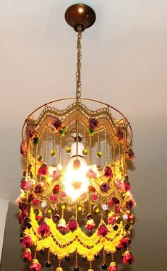 Anat Bon's Handmade Lamp   Stunning Rose Garden Fantasy by AnatBon, $190.00