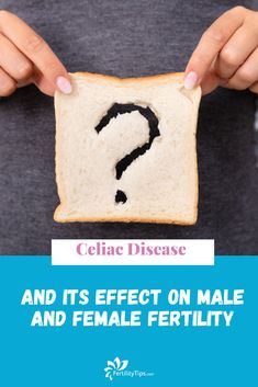 Celiac disease is a widespread chronic disease in the US and Europe that persists for a lifetime. It is assumed that one in 100 people are affected. Women are affected approximately twice as often as men. The disease has a variety of negative effects on reproductive health: Unexplained infertility, recurring miscarriages, stillbirths, menstrual disorders as well as impaired sperm quality can all be the result of untreated celiac disease. Unexplained Infertility, Causes Of Infertility, Female Infertility, What Is Celiac, Fertility Problems, Gluten Free Grains, Gluten Intolerance, Thyroid Disease