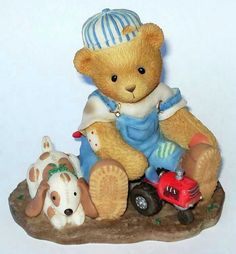 Heidi´s Cherished Teddies Galerie: TANNER - Friends Of Old Are Dear To Hold (601624)