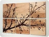 artwork on wood panels - Google Search