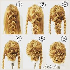 Curly Hairstyles Hairstyles for Girls Long Hair Fast Fancy Hairstyles 20190430 - Fancy Hairstyles, Braided Hairstyles, Wedding Hairstyles, Teenage Hairstyles, Curly Hair Styles, Natural Hair Styles, Longer Hair Faster, Hair Arrange, Braid Styles