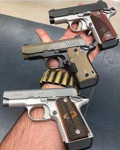 Twitter Kimber 1911, Self Defense, Firearms, Hand Guns, Carving, Twitter, 1911 Kimber, Pistols, Weapons