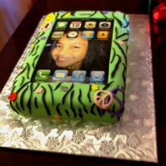 iPhone Cake Cakes Beautiful Cakes for the Occasions Pinterest