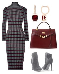 """""""chics"""" by mchlap on Polyvore featuring T By Alexander Wang, Venus and Hermès"""