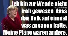 VIDEO: Merkel bereut Wende, hatte andere Pläne