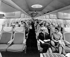 1959 Convair 880 main-cabin