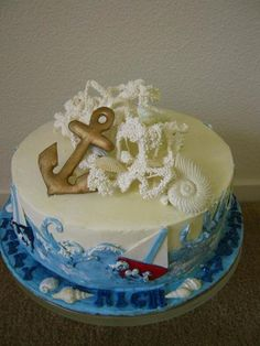 Nautical Sailing Cake