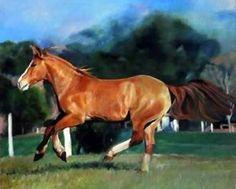 Pintura óleo sobre tela Edna Badu.