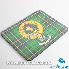 MacAlpine Clan Crest Mouse Mat