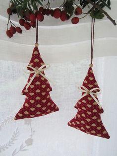 Weihnachtsbaumschmuck im Landhaus - Stil von Feinerlei auf DaWanda.com: