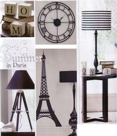 Monochromatic theme for home