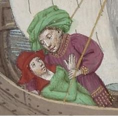 Boccaccio, Dekameron, BNF, 1432 Giovanni Boccaccio, Bnf, British Library, 15th Century, Medieval, Princess Zelda, Arsenal, Fictional Characters, Hoods