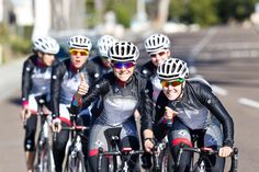 Thumbs up for Women's cycling from a very Special Team! #dznutsbliss #bliss