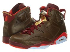 half off 00f11 8d36a Amazon.com  Jordan Mens Air Jordan 6 Retro Leather basketball-shoes  Shoes
