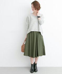 【セール】UR タイプライタータックフレアスカート(スカート)|URBAN RESEARCH(アーバンリサーチ)のファッション通販 - ZOZOTOWN