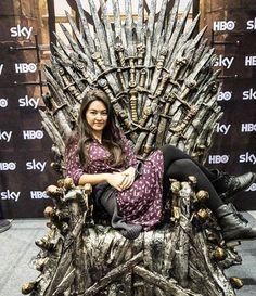 "1,738 次赞、 17 条评论 - Jessica Henwick (@jhenwick) 在 Instagram 发布:""Nymeria will see you now. #gameofthrones"""