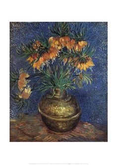 Fritillaries Art Print by Vincent Van Gogh