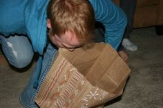 The Paper Bag Game, we used to play this all the time!!