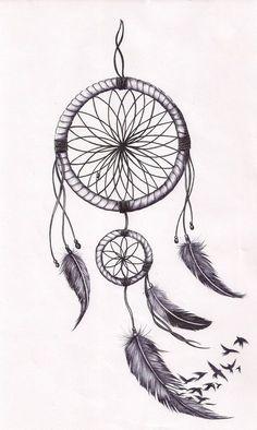 Dreamcatcher tat by mmpninja.deviantart.com on @deviantART
