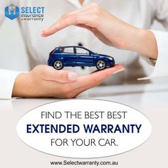 Find the best extended warranty for your new car here. http://www.selectwarranty.com.au/