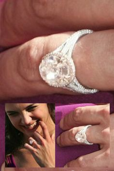 1000+ images about Celebrity Engagement Rings on Pinterest ...