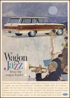 FORD Wagon Jazz from the Wagon Leader • 02/23/1962