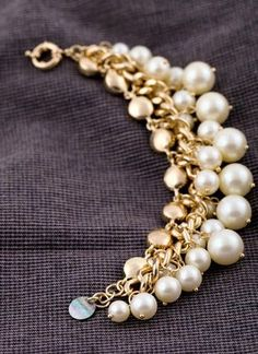 elegant simulated pearls- i love pearls, i wear them anytime day or night