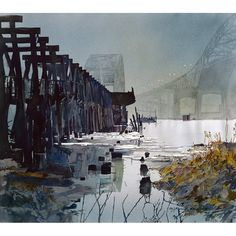 Acclaimed artist, John Salminen teaches watercolor in Brea for exclusive workshop. Call to register: 714-990-7731 #watercolor #johnsalminen