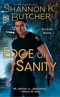 Edge of Sanity by Shannon K Butcher: http://thereadingcafe.com/edge-of-sanity-by-shannon-k-butcher-a-review/