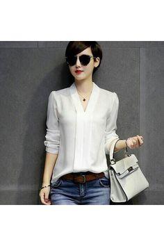 belanja shoppaholic shop blouse white zuky indonesia murah kemeja wanita di lazada