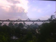 Explosion of Merapi at 5.00am o'clock.