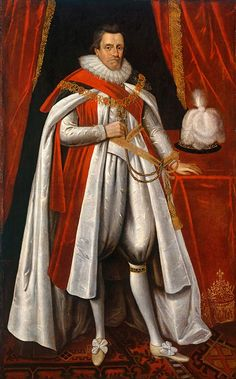After Paul van Somer (c. 1576-1621) - James VI and I (1566-1625)