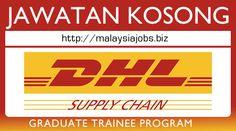 Jawatan Kosong DHL Supply Chain Sdn Bhd Johor Bahru.