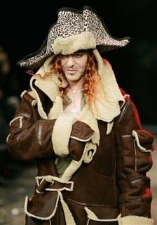 pirate fashion models | John Galliano pirate collection